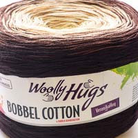 Woolly Hugs Bobbel Cotton 02 Waldmann (braun-natur)