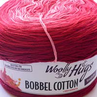 Woolly Hugs Bobbel Cotton 26 Süßigkeit (lila-rot-rosa)